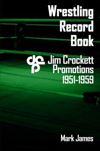 Wrestling Record Book: Jim Crockett Promotions 1951-1959 ebook
