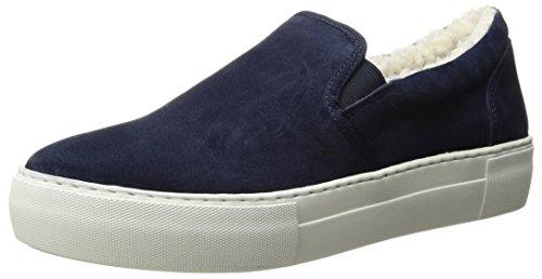 J Slides Womens Arpel Sneaker Navy Suede