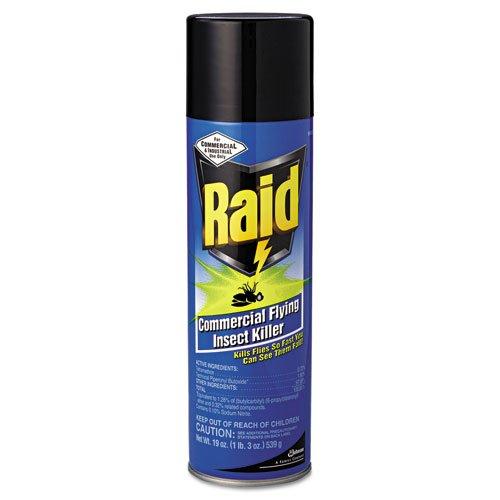 Raid Raid Commercial Flying Insect Killer, 19oz, Aerosol - six cans.
