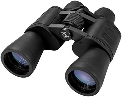 Aurosports 10x50 High Power Binoculars With Low Light Night Vision Ideal For Birding Watching, Camping, Hunting, Opera, Concert, Sports, Sightseeing, Business Visit etc.