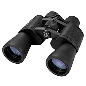 Aurosports 10x50 High Power Binocular With Low Light Night Vision Ideal For Birding Watching, Camping, Hunting, Opera, Concert, Sports, Sightseeing, Business Visit etc.