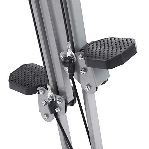 Yosooo Home Climber Machine, Adjustable Folding Heavy Duty Steel Vertical Full Body Workout Fitness Climber Climbing Cardio Exercise Machine Home Gym Stepper by Yosooo (Image #4)