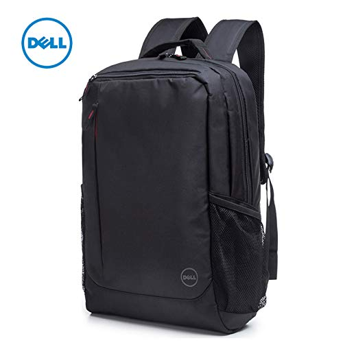 DELL 0M97H2 Limited Red Accents Essential 15.6 inch Notebook Backpack  Red  Laptop Backpacks