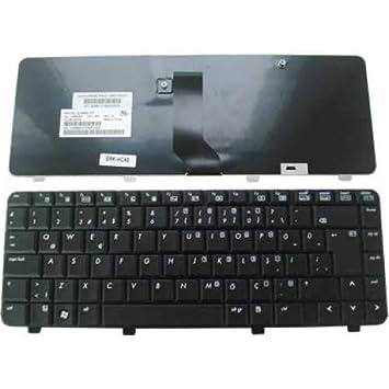 Teclado Americana Nueva para Notebook HP Compaq 500 510 520 530 Serie: Amazon.es: Electrónica