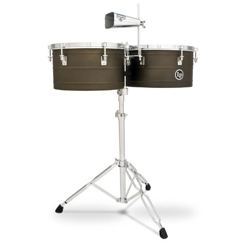 Latin Percussion LP Matador 14'' & 15'' Deep Shell Timbales - Antique Finish by Latin Percussion