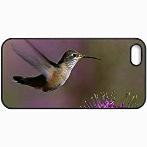 Fashion Unique Design Protective Cellphone Back Cover Case For iPhone 5 5S Case Bird Black