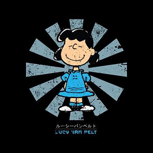 Lucy Van Pelt Retro Japanese Peanuts Women's T-Shirt: Odzież