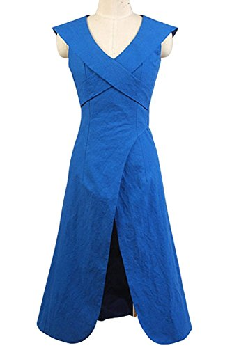 CosDaddy®Berühmt Film-Charakter Dänerys Targaryen Dreß Kleid Cosplay Kostüm
