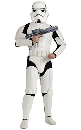 [Rubie's Costume Star Wars Deluxe Stormtrooper, White, One Size Costume] (Adult Costumes)