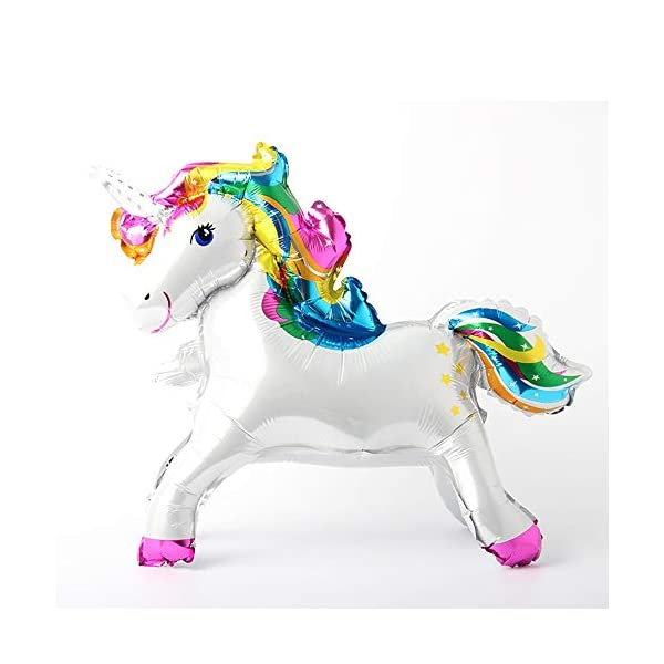 Self Stand steadily Unicorn Birthday Party Decorations Supplies Wedding Engagement Children's Day Foil Unicorn horse… 7