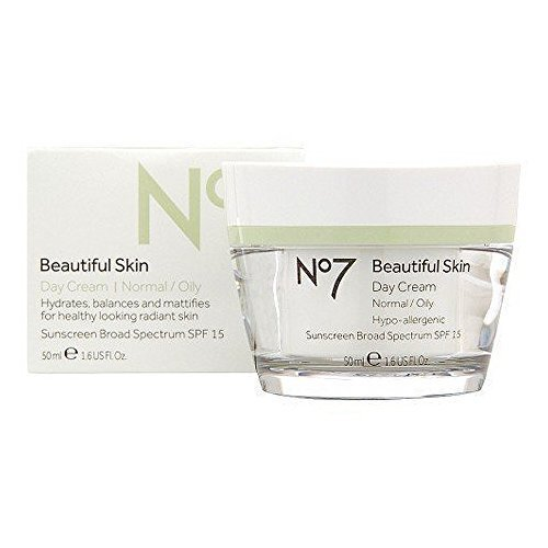Boots No7 Beautiful Skin Day Cream Normal/Oily SPF15 - 1.69 oz