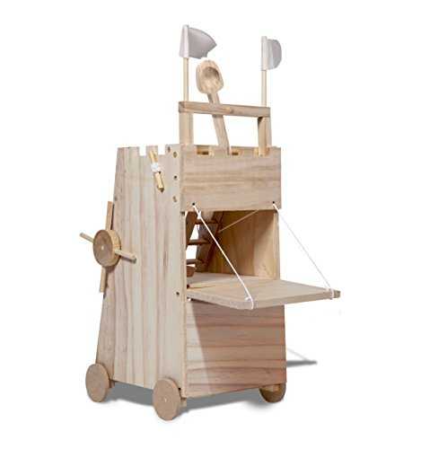 - THUMBS UP Thumbsup UK, Medieval Siege Historically Accurate Tower with Working Levers
