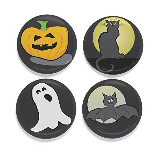 Buttonsmith Halloween Icons Tinker Top Set - to use with Tinker Reel Badge Reel - Made in The USA