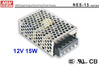 Maslin Switching Power Supply with/LED Advertising Lamp Box Electronic Card/LED Signs, We Supply 12V 15W 1.3A