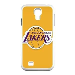 Samsung Galaxy S4 9500 Cell Phone Case White LA Lakers SLI_631598