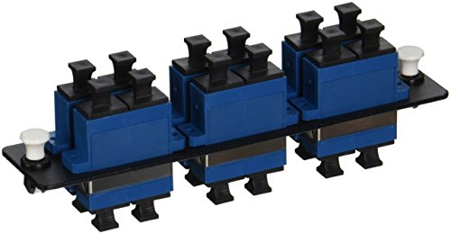 C2G/Cables to Go 31105 Q-Series  12-Strand, SC Duplex, PB Insert, MM/SM, Blue SC Adapter Panel Duplex Pb Insert