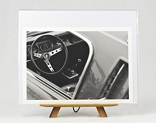 'Icon' Wall Art, Classic Car Ford Mustang Photograph, 8x12 Giclee Photographic Print on Archival Fine Art Paper, Unframed (Unframed Icon)