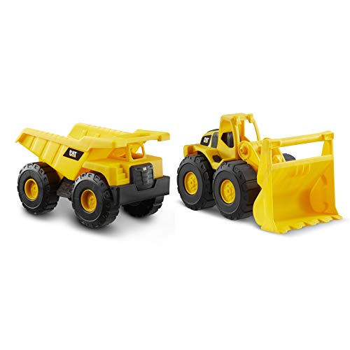 CAT Construction Fleet Toy Dump Truck and Loader Combo Pack