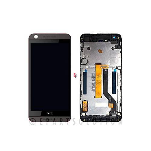 ePartSolution_HTC Desire 626S LCD Digitizer Touch Screen Assembly With Frame Black Replacement Part USA (Htc Touch)