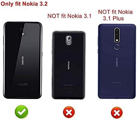 Funda para Nokia 3.2 2019,Fashion Design [Antigolpes] con 360 Anillo iman Soporte, Resistente a los arañazos TPU Funda Protectora Case Cover para Nokia 3V,Tiger: Amazon.es: Electrónica