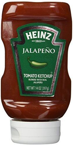 Heinz Jalapeno Tomato Ketchup, 14 oz by HEINZ