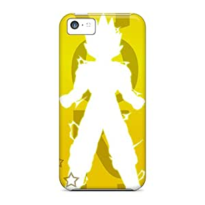 Hot Fashion QtX17471Uoke Design Cases Covers For Iphone 5c Protective Cases (goku)