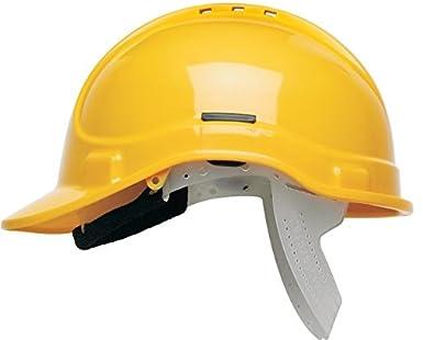 Scott Protector Style 300 casco de seguridad con ventilación - amarillo