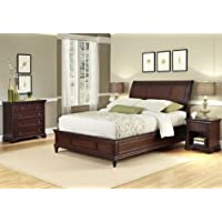 Home Styles Lafayette King/California King Sleigh Headboard, Night Stand and Chest