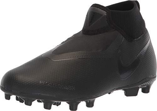 buy online 2eabb 28aae Nike Phantom Vision Academy Kid s Firm Ground Soccer Cleats (5.5 Big Kid M)  Black