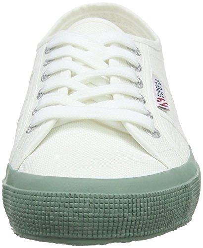 Adulte J06 White SUPEK Basses Bay Cotu Mixte Superga Classic Green CnqH7Uw
