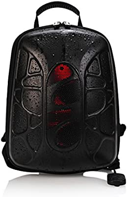 Trakk Shell Hiking Backpack With Waterproof Speaker Lightweight Max Bass Waterproof Shockproof Dustproof Stain Resistant Audio Backpack With Led And Controller Amazon Com Au Computers Accessories