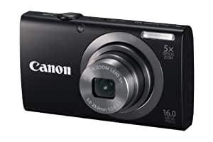 Canon 6191B005 PowerShot A2300 IS 16.0 MP Digital Camera with 5x Digital Image Stabilized Zoom 28mm Wide-Angle Lens with 720p HD Video Recording (Black) (Discontinued by Manufacturer)