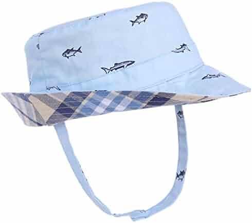 67180a8617dcd9 Baby Sun Hat Double Sides - Toddler Sun Hat UPF 50+ Kids Summer Play Bucket