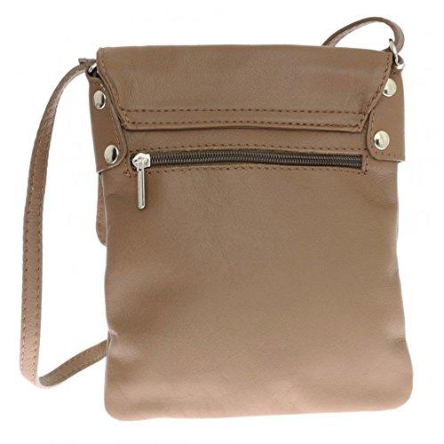 body Italian Shoulder bag Large Leather Pelle bag Messenger Vera Cross Genuine Yw6qdZZ