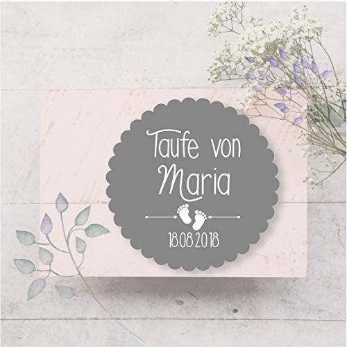 24 Aufkleber Stickers Etiketten Selbstklebend Farbauswahl Kommunion Konfirmation Taufe Gastgeschenk