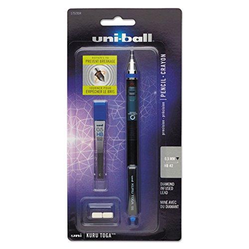 KuruToga Mechanical Pencil, Purple (Sanford Diamond Infused Lead)