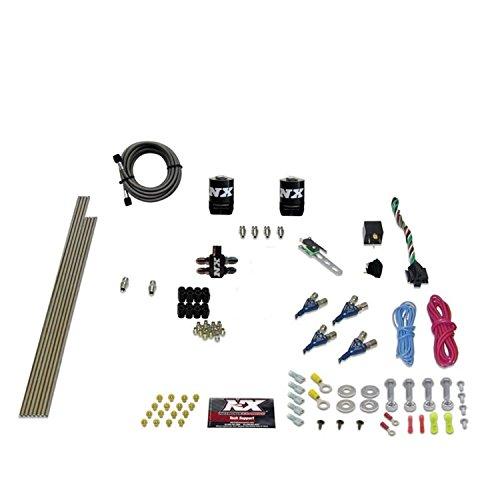 Direct Port Nitrous Oxide - Nitrous Express 80045-00 125-275 HP 4-Cylinder Alcohol Piranha Direct Port System