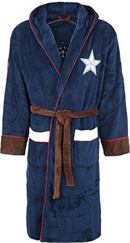 Captain America Logo Bademantel multicolour one size