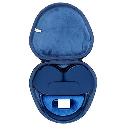 funda estuche para auriculares airpods max apple azul
