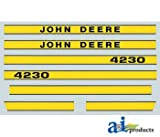 A&I Products Hood Decal Replacement for John Deere Part Number JD4230