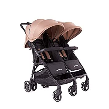 Poussette double Baby Monsters Kuki Twin Taupe 2018  Amazon.fr ... e9c062e2f42