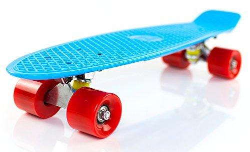 Boss Board The Complete 22' Vintage Skateboard (Superman (Blue Deck/Red Wheels))