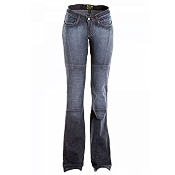 0ae495a202d Draggin Minx Ladies Motorcycle Jeans Blue 8  Amazon.co.uk  Sports ...