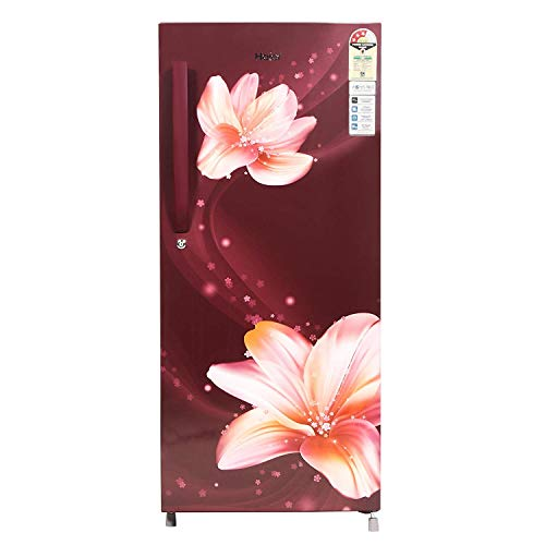 Haier 195 L 3 Star Direct-Cool Single Door Refrigerator (HRD-1953CRS-E, Red  Serenity): Amazon.in: Home & Kitchen