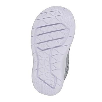 Boy's Flex 2016 RN (TDV) Toddler Running Shoes (4 Toddler M, Black/White/Metallic Silver)