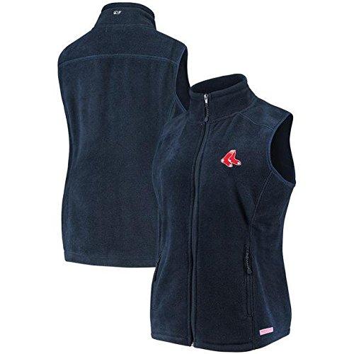 おめでとうメンタリティ食料品店Vineyard Vines Vineyard Vines Boston Red Sox Women's Navy Westerly Vest アウターウェア ジャケット/アウター 【並行輸入品】