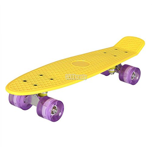 Buysyall® Monopatín Mini Skateboards Estilo Cruiser Ruedas ...