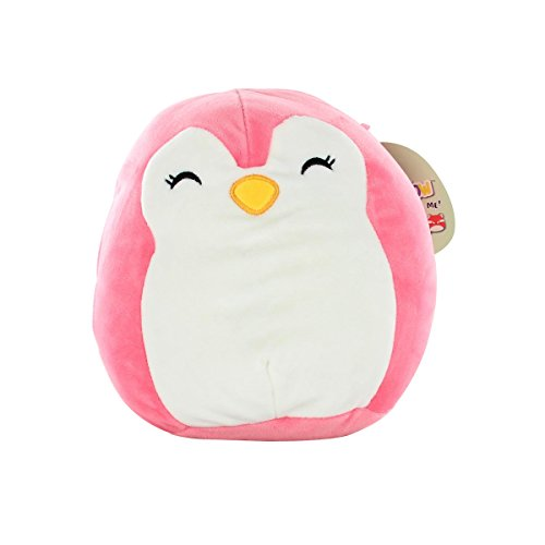 """Squishmallows 13"""" Super Soft Plush Toy Animal Pillow Pal Buddy Pink Penguin"""
