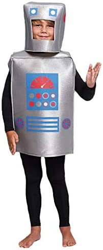 Disfraz Robot Retro Infantil (10-12 años) (+ Tallas) Carnaval ...
