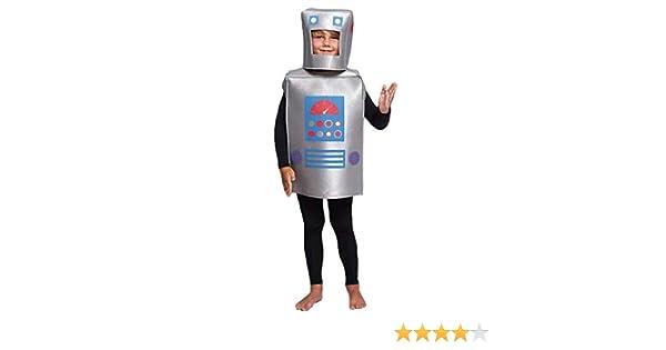 Disfraz Robot Retro Infantil (3-4 años) (+ Tallas) Carnaval Varios ...